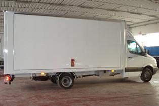 furgoni in alluminio