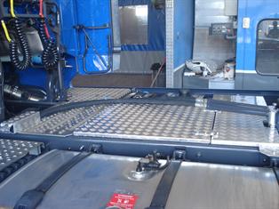 impianto idraulici per ribaltamento